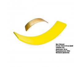 Рокерборд - дитяча спортивна дошка (Balance board) МВСП - жовтий
