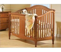 """Детская кроватка МКК 05 """" Flora"""" (дерево БУК, маятник, ящик 1200х600 )"""