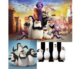 """Парта """"Типа Пингвины"""" (парта, стул, регулируемая)"""