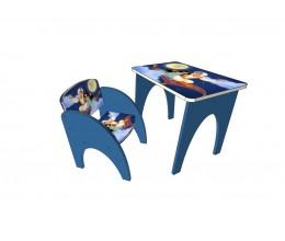 "Набор мебели стол + стул МКС 03/2 ""Типа ЩЕНЯЧИЙ ПАТРУЛЬ"" (ЛДСП, 600*400)"